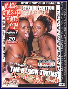 Black Girls Eat White Cum 4 Adult DVD