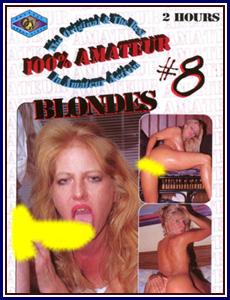 100% Amateur 8 Porn DVD