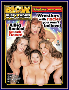 BLOW Busty Ladies of Oil Wrestling Porn DVD