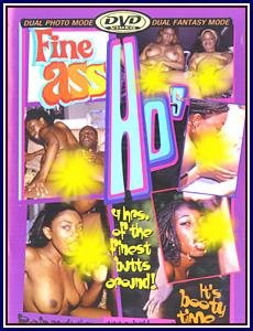 Fine Ass Ho's Porn DVD