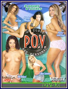 POV Up Close and Personal Porn DVD