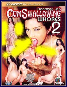 Cum swallow whore porn