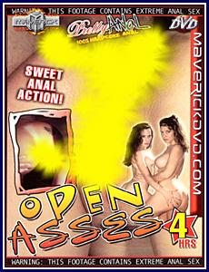 Pretty Anal - Open Asses Porn DVD