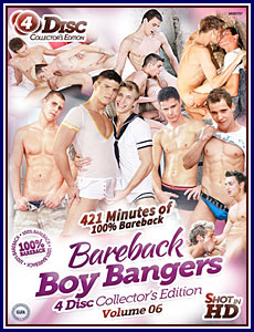 Bareback Boy Bangers 6 4-Disc Collector's Edition