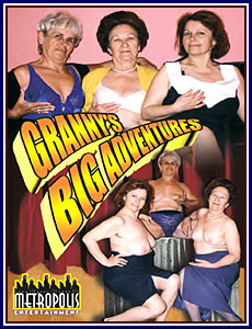 Granny's Big Adventure Porn DVD