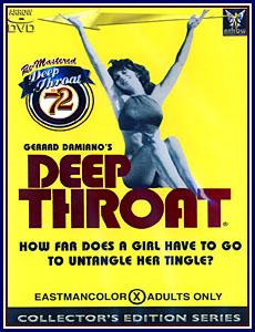 Deep Throat Porn DVD