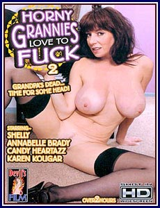 Horny Grannies Love To Fuck 2 Porn DVD