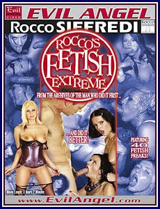 Rocco's Fetish Extreme Porn DVD