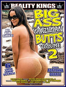 Big Ass Brazilian Butts 2 Porn DVD