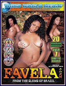 Girls brazilian favela