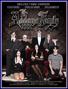 The Addams Family XXX Porn DVD