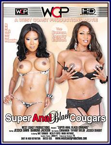 Super Anal Black Cougars Porn DVD