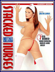 Stacked and Nasty Nurses Porn DVD