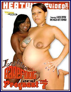 Lesbian barefoot and pregnant