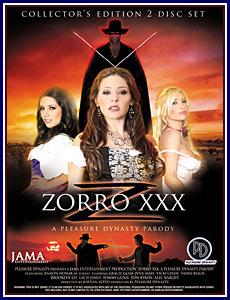 Zorro XXX Porn DVD