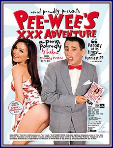 Pee-Wee's XXX Adventure: A Porn Parody Porn DVD