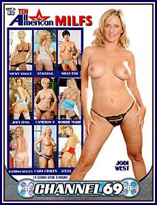 Ten All American MILFs Porn DVD