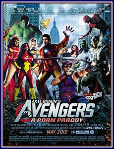 Axel Braun's Avengers XXX: A Porn Parody Porn DVD