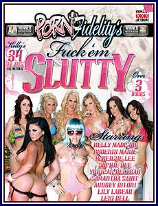 Porn Fidelity's Fuck 'em Slutty Porn DVD
