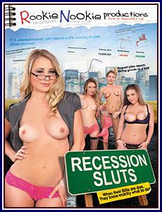 Recession Sluts Porn DVD