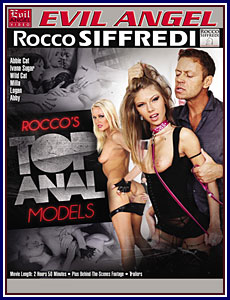 Rocco's Top Anal Models Porn DVD