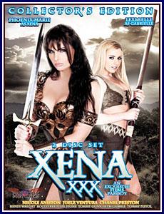 Xena XXX Porn DVD