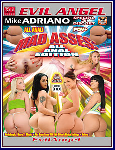 Mad Asses: All Anal Edition Porn DVD