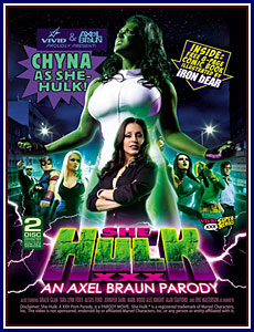She-Hulk XXX: An Axel Braun Parody Porn DVD