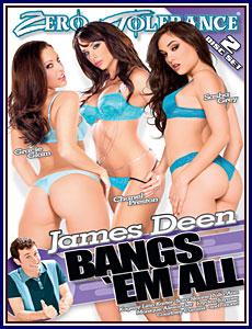 James Deen Bangs 'Em All Porn DVD
