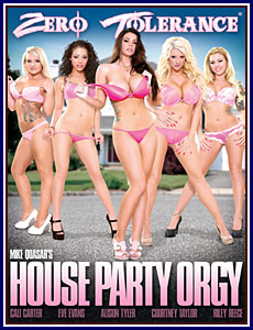 Porn dvd with orgy
