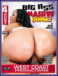 Big Ass Massive Quake Porn DVD
