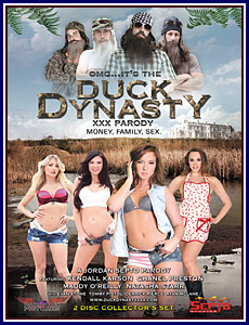 OMG...It's the Duck Dynasty XXX Parody Porn DVD