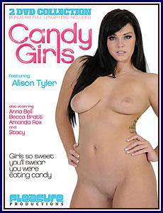 Candy Girls Porn DVD