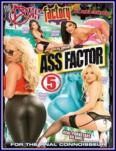 Ass Factor 5 Porn DVD