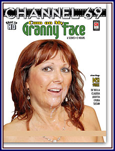 Cum On My Granny Face Adult DVD