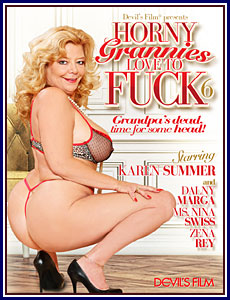 Horny Grannies Love To Fuck 6 Porn DVD