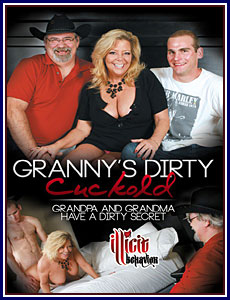 Granny's Dirty Cuckold Porn DVD