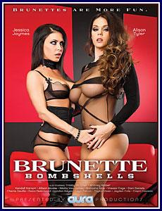 Brunette Bombshells Porn DVD