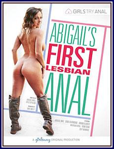 Abigail's First Lesbian Anal Porn DVD