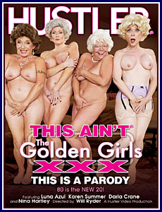 This Ain't The Golden Girls XXX Porn DVD