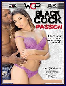 Black Cock Passion Porn DVD