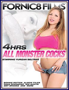 4 Hrs All Monster Cocks Porn DVD