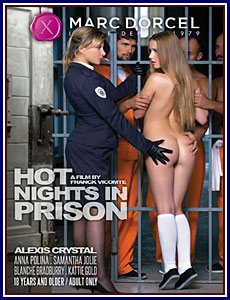 Hot Nights In Prison Porn DVD