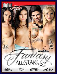 Fantasy All-Stars 13 Porn DVD