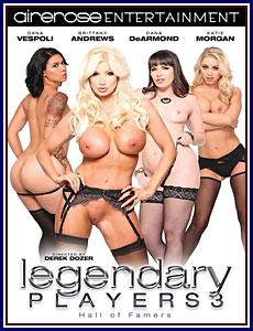 Legendary Players 3 Porn DVD