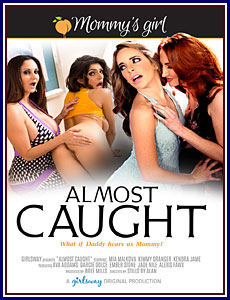 Almost Caught Porn DVD
