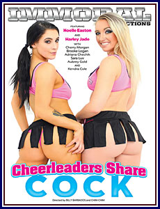 Cheerleaders Share Cock Porn DVD