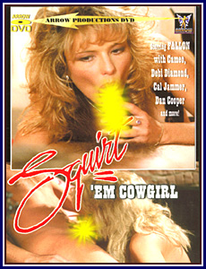 Squirt'em Cowgirl Porn DVD