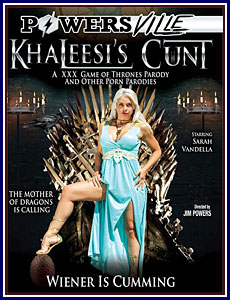 Khaleesi's Cunt: A XXX Game of Thrones Parody and Other Porn Parodies Porn DVD