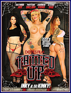 Tatted Up Porn DVD